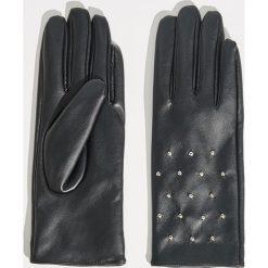 Rękawiczki z dżetami - Czarny. Rękawiczki damskie marki B'TWIN. W wyprzedaży za 19.99 zł.