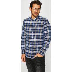 Tommy Hilfiger - Koszula. Szare koszule męskie Tommy Hilfiger, w kratkę, z bawełny, button down, z długim rękawem. Za 359.90 zł.