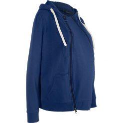 Bluza rozpinana ciążowa z wstawką niemowlęcą bonprix kobaltowy. Bluzy damskie marki bonprix. Za 139.99 zł.