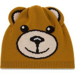 Czapka MOSCHINO - 65114 M1865 003. Brązowe czapki i kapelusze męskie MOSCHINO, z materiału. Za 409.00 zł.