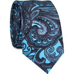 Krawat KWWR000352. Niebieskie krawaty i muchy Giacomo Conti, z jedwabiu. Za 129.00 zł.