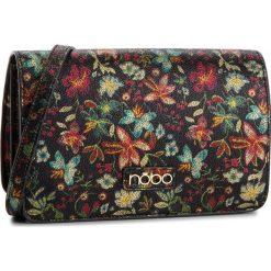 Torebka NOBO - NBAG-F0350-CM20 Czarny Z Kwiatami. Czarne listonoszki damskie Nobo, ze skóry ekologicznej. W wyprzedaży za 149.00 zł.