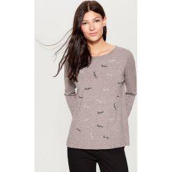 Sweter z aplikacją - Jasny szar. Swetry damskie marki bonprix. Za 99.99 zł.