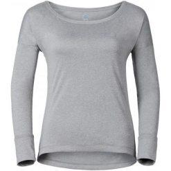 Odlo Koszulka Z Długim Rękawem Tebe Grey Melange M. Szare koszulki sportowe damskie Odlo, z materiału, z długim rękawem. W wyprzedaży za 189.00 zł.