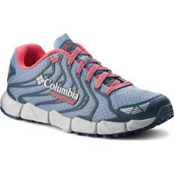 Buty COLUMBIA - Fluidflex F.K.T. II  BL2800 Dark Mirage/Red Camellia 411. Niebieskie obuwie sportowe damskie Columbia, z materiału. W wyprzedaży za 349.00 zł.