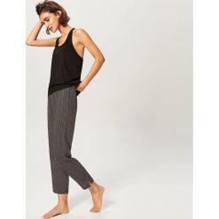 Dwuczęściowa piżama - Czarny. Czarne piżamy damskie Reserved. Za 99.99 zł.