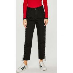 Trendyol - Jeansy. Czarne jeansy damskie Trendyol. Za 119.90 zł.