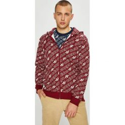 Adidas Originals - Bluza. Brązowe bluzy męskie adidas Originals, z bawełny. W wyprzedaży za 299.90 zł.