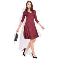 Fille Du Couturier Sukienka Damska Emeraude 40 Burgund. Czerwone sukienki damskie Fille Du Couturier, z długim rękawem. Za 229.00 zł.