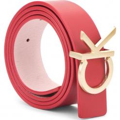 Pasek Damski CALVIN KLEIN - Ck Rev Belt Giftbox K60K604753 908. Czerwone paski damskie Calvin Klein, w paski, ze skóry. Za 299.00 zł.