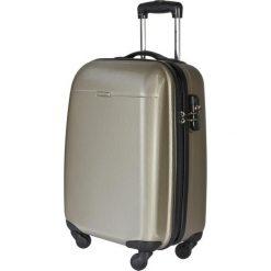 Mała Twarda Walizka PUCCINI - PC005C 6 Brązowy Złoty. Brązowe walizki damskie Puccini, z tworzywa sztucznego. W wyprzedaży za 209.00 zł.