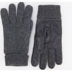Rękawiczki - Szary. Rękawiczki męskie marki FOUGANZA. W wyprzedaży za 49.99 zł.