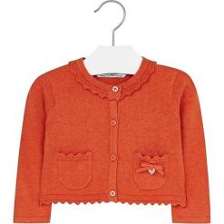 Sweter w kolorze pomarańczowym. Swetry dla dziewczynek marki bonprix. W wyprzedaży za 67.95 zł.