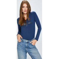 Pepe Jeans - Bluzka Mara. Szare bluzki damskie Pepe Jeans, z nadrukiem, z dzianiny, casualowe. W wyprzedaży za 139.90 zł.