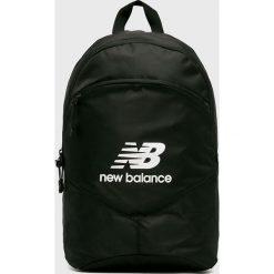 New Balance - Plecak. Czarne plecaki damskie New Balance, z poliesteru. Za 99.90 zł.