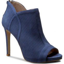 Szpilki GINO ROSSI - Gina DFH334-W31-0014-5300-0 55. Niebieskie szpilki damskie Gino Rossi, z nubiku. W wyprzedaży za 259.00 zł.