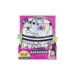 Plecak do malowania Zwierzak + pisaki zielony - Lean Toys. Zielone torby i plecaki dziecięce Lean Toys. Za 32.91 zł.