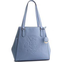 Torebka LAUREN RALPH LAUREN - Tote 431707716004 Blue. Niebieskie torebki do ręki damskie Lauren Ralph Lauren, ze skóry. Za 1,519.00 zł.