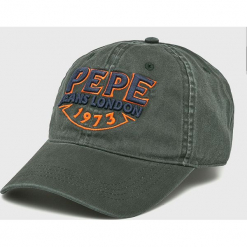 Pepe Jeans - Czapka Sheraz. Szare czapki i kapelusze męskie Pepe Jeans. Za 99.90 zł.