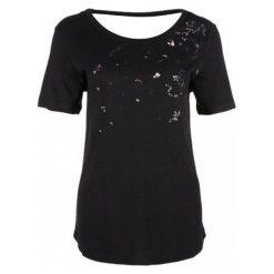 S.Oliver T-Shirt Damski 36 Czarny. Czarne t-shirty damskie S.Oliver. Za 119.00 zł.