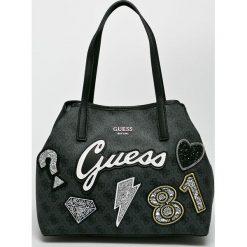 Guess Jeans - Torebka. Szare torby na ramię damskie Guess Jeans. Za 599.90 zł.