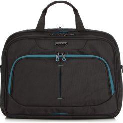 Torba na laptopa 56-3S-633-1C. Czarne torby na laptopa męskie Wittchen, w paski, z materiału. Za 319.00 zł.