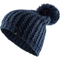 Czapka damska CAD610 - ciemny granat - Outhorn. Czarne czapki i kapelusze damskie Outhorn, ze splotem. Za 34.99 zł.