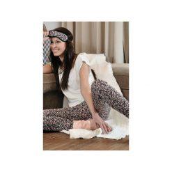Komplet piżama Fleur. Białe piżamy damskie Enfin, na lato, z nadrukiem, z dzianiny. Za 249.00 zł.