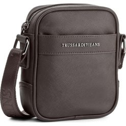 Saszetka TRUSSARDI JEANS - New York 71B00028  B220. Brązowe saszetki męskie TRUSSARDI JEANS, z jeansu, młodzieżowe. W wyprzedaży za 249.00 zł.