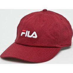 Fila - Czapka. Czerwone czapki i kapelusze damskie Fila, z bawełny. Za 149.90 zł.