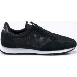 New Balance - Buty WL220TB. Czarne obuwie sportowe damskie New Balance, z gumy. W wyprzedaży za 259.90 zł.