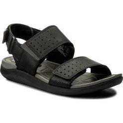 Sandały CLARKS - Garratt Active 261324127 Black Leather. Sandały męskie marki Wojas. W wyprzedaży za 259.00 zł.