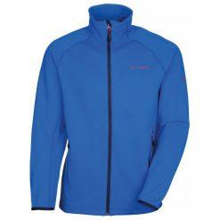 Vaude Kurtka Men's Gutulia Jacket Hydro Blue S. Niebieskie kurtki sportowe męskie Vaude, z materiału. W wyprzedaży za 299.00 zł.