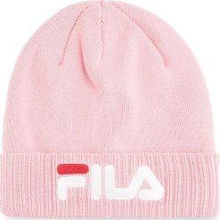 Czapka FILA - Slouchy Beanie 686002 Coral Blush J29. Czerwone czapki i kapelusze damskie Fila, z bawełny. W wyprzedaży za 119.00 zł.