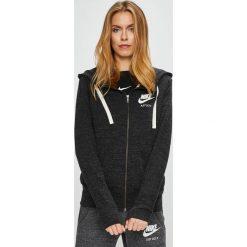 Nike Sportswear - Bluza. Czarne bluzy damskie Nike Sportswear, z bawełny. W wyprzedaży za 199.90 zł.