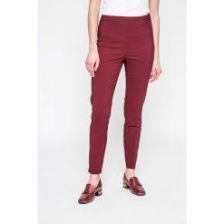 Vero Moda - Spodnie. Szare spodnie materiałowe damskie Vero Moda, z bawełny. W wyprzedaży za 89.90 zł.