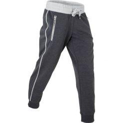 Spodnie sportowe, dł. 7/8 bonprix szaro-matowy srebrny melanż. Spodnie dresowe damskie marki WED'ZE. Za 37.99 zł.