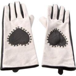 Rękawiczki Damskie TWINSET - Guanti AA7PWE S Bic. Nero/White Cashm 01075. Brązowe rękawiczki damskie Twinset, ze skóry. W wyprzedaży za 289.00 zł.