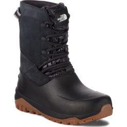 Śniegowce THE NORTH FACE - Yukiona Mid Boot T93K3BKX7 Tnf Black/Tnf Black. Czarne kozaki damskie The North Face, z materiału. Za 599.00 zł.
