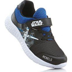 Sneakersy Star Wars bonprix czarno-niebieski. Buty sportowe chłopięce marki bonprix. Za 79.99 zł.