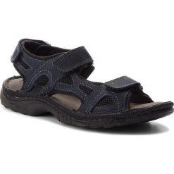 Sandały LASOCKI FOR MEN - MI20-TIS-01 Granatowy. Niebieskie sandały męskie Lasocki For Men, z materiału. W wyprzedaży za 99.99 zł.