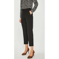 Vero Moda - Spodnie. Szare spodnie materiałowe damskie Vero Moda, z haftami, z elastanu. Za 169.90 zł.