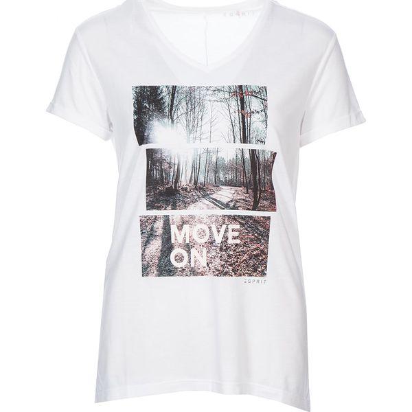 66b59fa86 Koszulka w kolorze białym - Białe t-shirty damskie ESPRIT. W ...