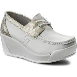 Półbuty LANQIER - 40C1554 Biały/Złoty. Półbuty damskie marki Nike. W wyprzedaży za 99.00 zł.