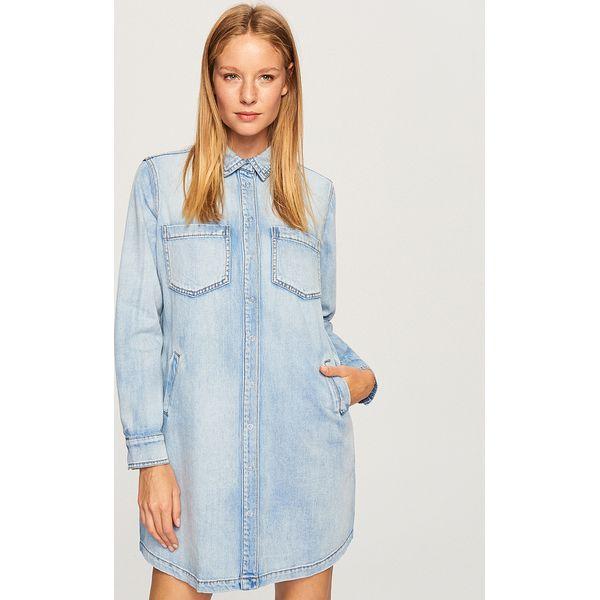 9f090cffea Jeansowa sukienka - Niebieski - Sukienki damskie marki Reserved. W ...
