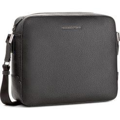 Torba na laptopa TRUSSARDI JEANS - Ottawa 71B00011 K299. Czarne torby na laptopa damskie TRUSSARDI JEANS, z jeansu. W wyprzedaży za 349.00 zł.