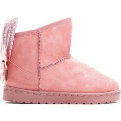 Różowe Śniegowce Comic Book. Czerwone buty zimowe dziewczęce Born2be, z materiału. Za 49.99 zł.
