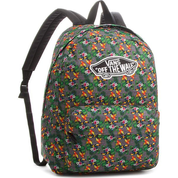 9e6b706767e7b2 Plecak VANS - Realm Backpack VN000NZ0F4F Parrot - Szare plecaki ...