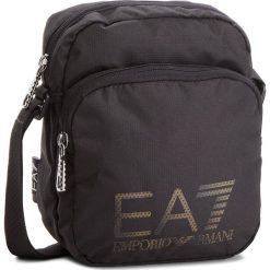Saszetka EA7 EMPORIO ARMANI - 275663 CC732 00020 Black. Czarne saszetki męskie EA7 Emporio Armani, z materiału, młodzieżowe. Za 269.00 zł.