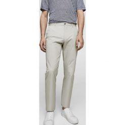Mango Man - Spodnie Dublin3. Szare eleganckie spodnie męskie Mango Man, z bawełny. Za 199.90 zł.